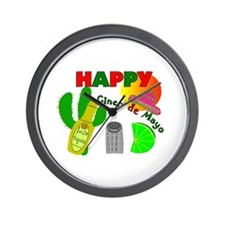 Cinco de Mayo III Wall Clock