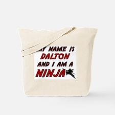 my name is dalton and i am a ninja Tote Bag