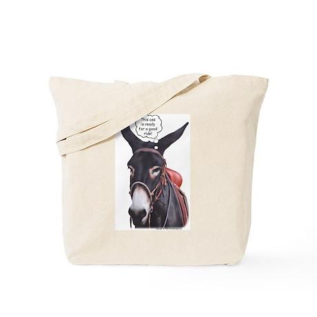 Donkey Ride Tote Bag