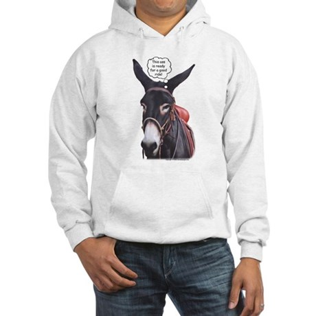 Donkey Ride Hooded Sweatshirt