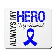 AlwaysMyHero Husband Mousepad