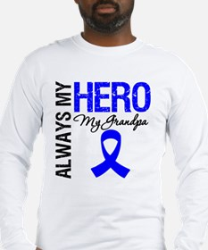 AlwaysMyHero Grandpa Long Sleeve T-Shirt