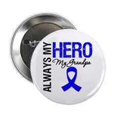 "AlwaysMyHero Grandpa 2.25"" Button (10 pack)"