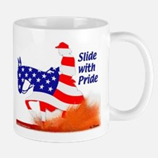 Patriotic Reining Mule Mug