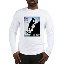 Got Mule? (Woman) Long Sleeve T-Shirt