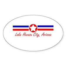 Lake Havasu City, AZ Oval Decal