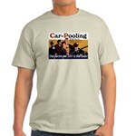 Carpooling Ash Grey T-Shirt