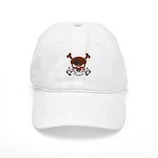 Fraser Tartan Skull Baseball Cap