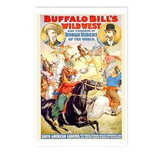Vintage Buffalo Bill Wild West Postcards (Package