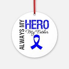 AlwaysMyHero Father Ornament (Round)