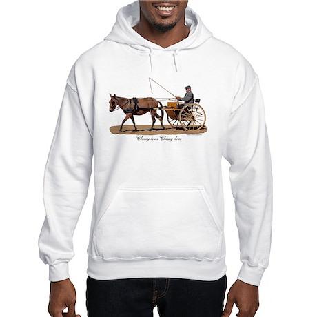 Classy Driving Mule Hooded Sweatshirt