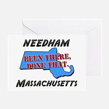 needham massachusetts - been there, done that Gree