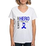 AlwaysMyHero Aunt Women's V-Neck T-Shirt