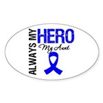 AlwaysMyHero Aunt Oval Sticker (10 pk)