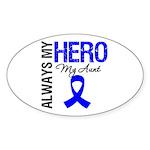 AlwaysMyHero Aunt Oval Sticker (50 pk)