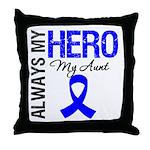 AlwaysMyHero Aunt Throw Pillow