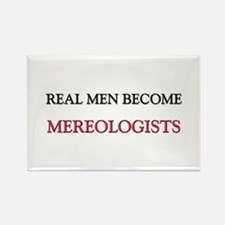 Real Men Become Mereologists Rectangle Magnet