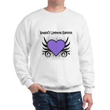 Hodgkins Survivor Tattoo Sweatshirt