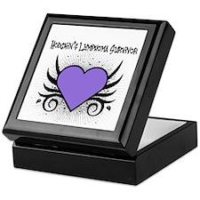 Hodgkins Survivor Tattoo Keepsake Box