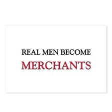 Real Men Become Merchants Postcards (Package of 8)