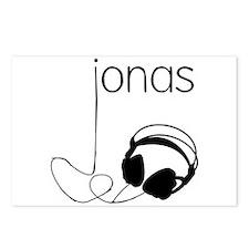 Jonas Bros Headphones Postcards (Package of 8)