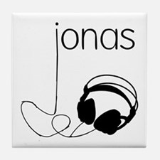 Jonas Bros Headphones Tile Coaster