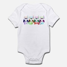 Four Wide Infant Bodysuit