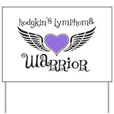 HodgkinsWarriorFighterWings Yard Sign