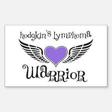 HodgkinsWarriorFighterWings Rectangle Sticker 10