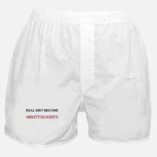 Real Men Become Melittologists Boxer Shorts