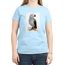African Grey  Women's Pink T-Shirt