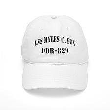 USS MYLES C. FOX Baseball Cap