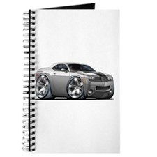 Challenger Silver Car Journal