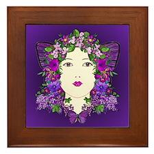 Persephone Framed Tile