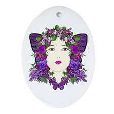 Persephone Oval Ornament