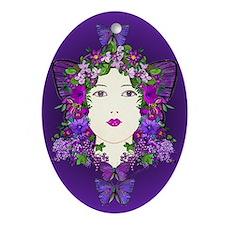 Persephone Oval Ornament