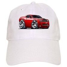 Challenger Red Car Baseball Cap