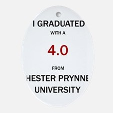 Hester Prynne Oval Ornament