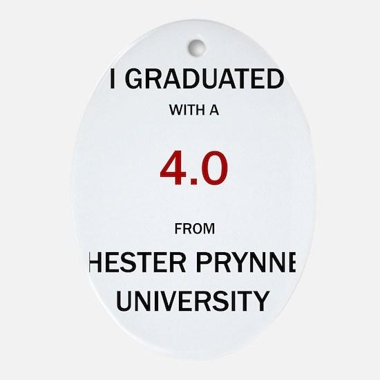 Hester Prynne Oval Ornament