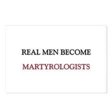 Real Men Become Martyrologists Postcards (Package