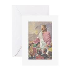 Jesus' Meaty Aroma Greeting Card