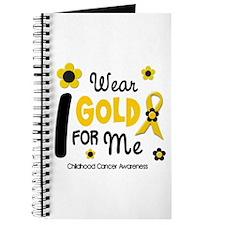 I Wear Gold 12 Me CHILD CANCER Journal