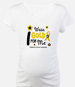 I Wear Gold 12 Me CHILD CANCER Shirt