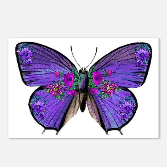 Persephone's Butterfly Postcards (Package of 8)