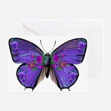 Persephone's Butterfly Greeting Card