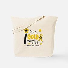 I Wear Gold 12 Me CHILD CANCER Tote Bag