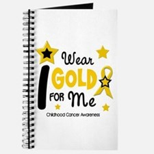 I Wear Gold 12 Me CHILD CANCER Journal