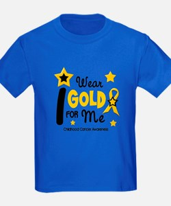 I Wear Gold 12 Me CHILD CANCER T