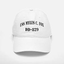 USS MYLES C. FOX Baseball Baseball Cap