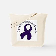 Crohn's Disease Awareness Tote Bag